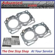 SUBARU IMPREZA WRX RA LEGACY 1.6mm FIBRE GASKETS AND BOLT SET MADE BY AJUSA
